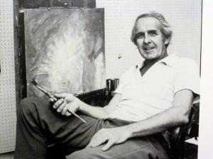 Jim Kemp with brush