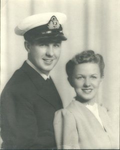Jim and Anne 1940