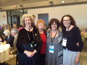 Winnipeg Banquet Penn, Teri Degler , Judy Rebick, Susan McCaslin